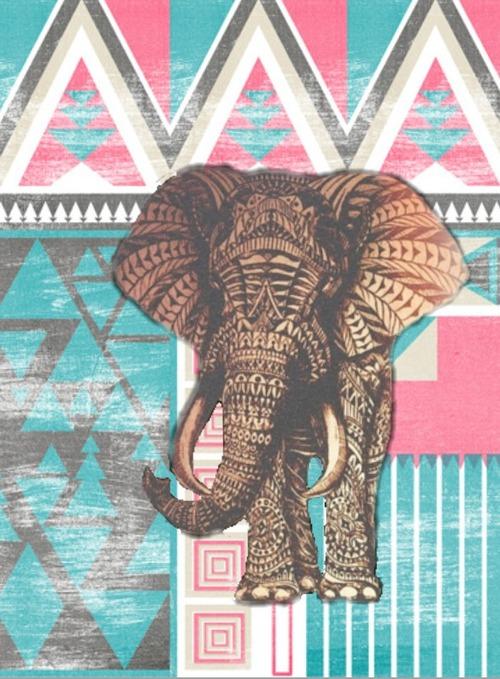 aztec elephant Tumblr 500x679