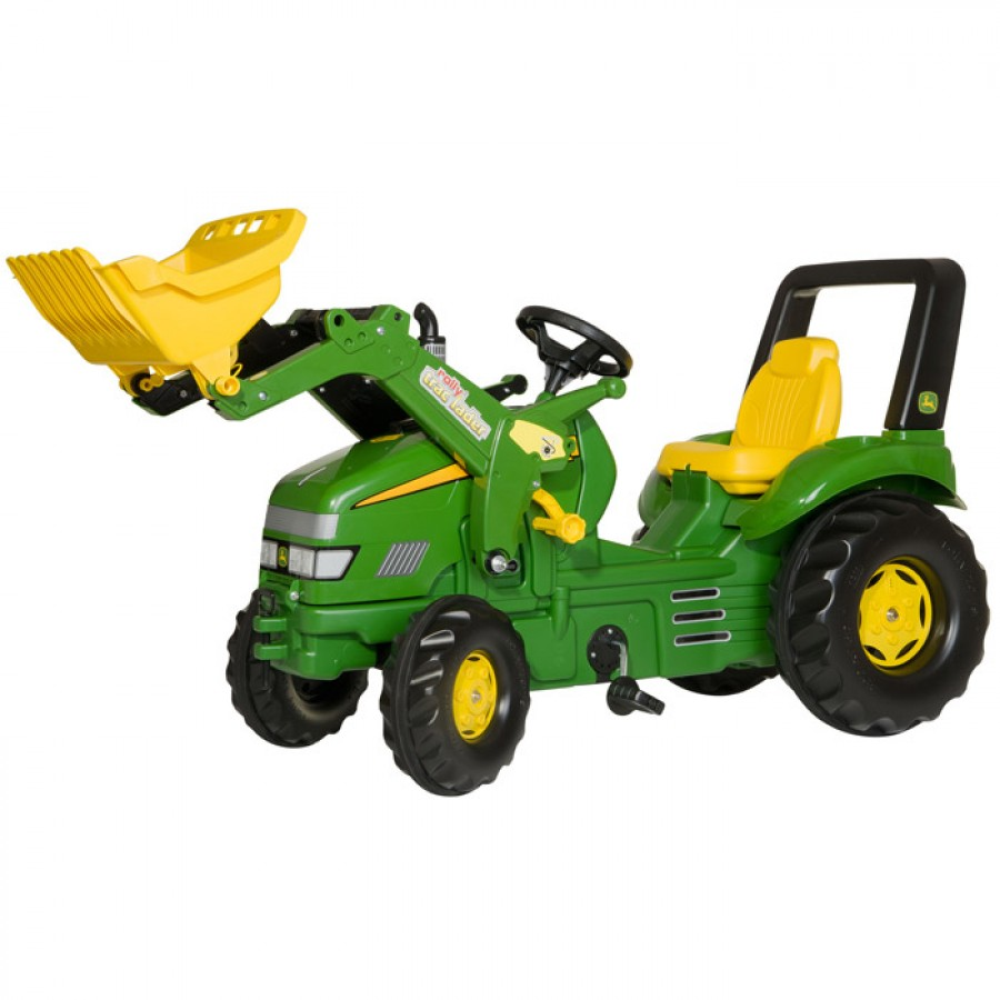 charliesdirectcoukrolly x trac john deere pedal tractor and loader 900x900