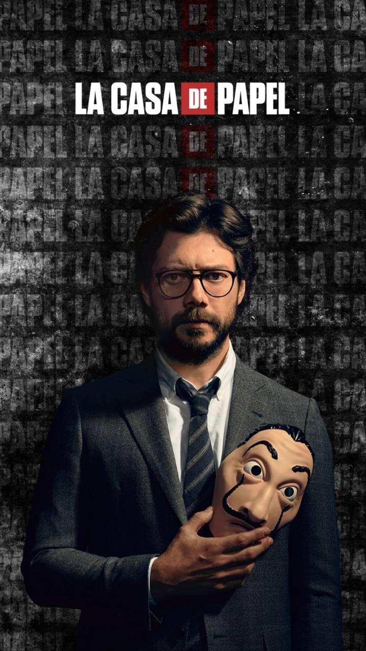 Professor Money Heist Wallpapers   Top Professor Money Heist 720x1280