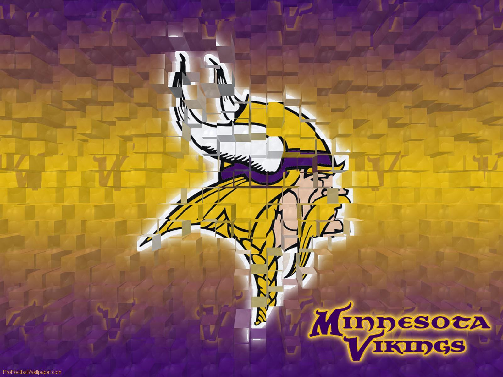 Download Minnesota Vikings wallpaper Minnesota Vikings 3D 1600x1200