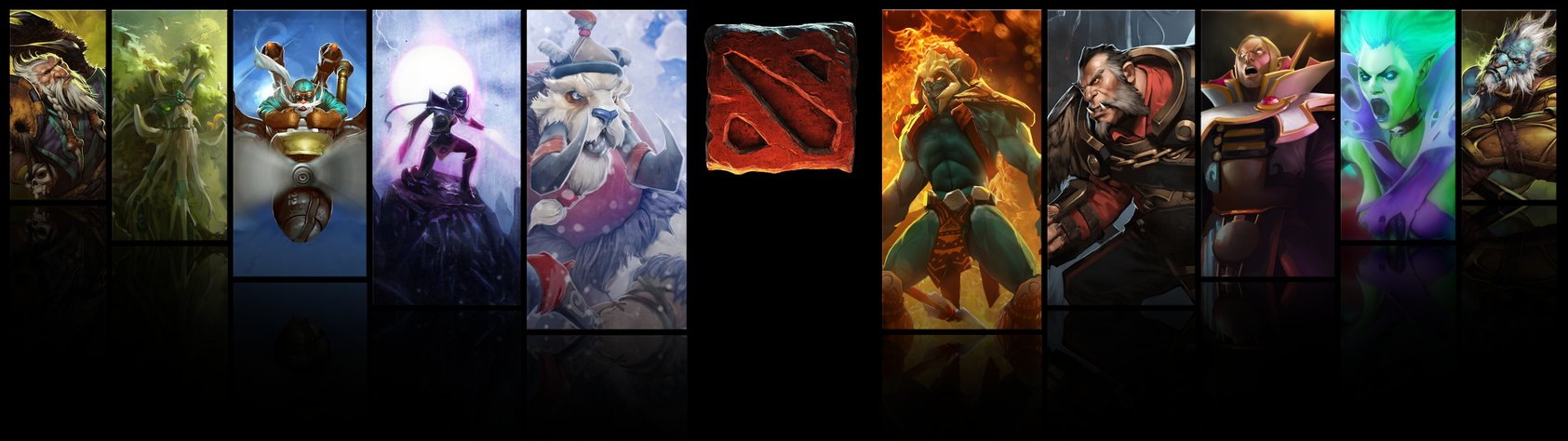Dual Screen Wallpapers Reddit Dota 2 Dual screen Wallpaper 1685x474