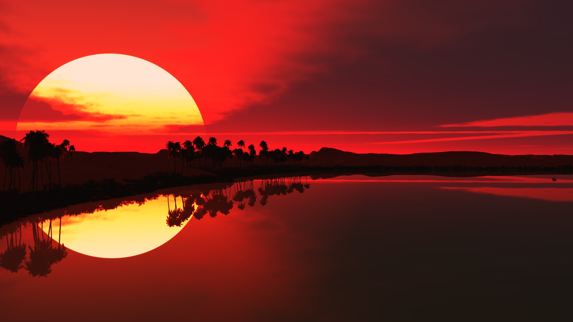 1920x1080 Hd Sunset: [70+] Hd Sunset Wallpaper On WallpaperSafari