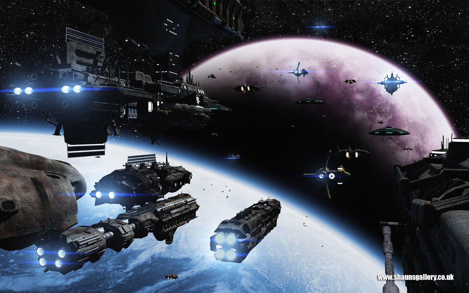 Sci Fi Desktop Backgrounds - WallpaperSafari