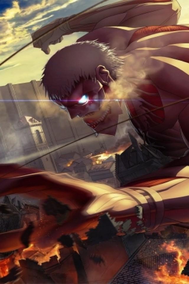 Attack On Titan iPhone wallpaper 640x960