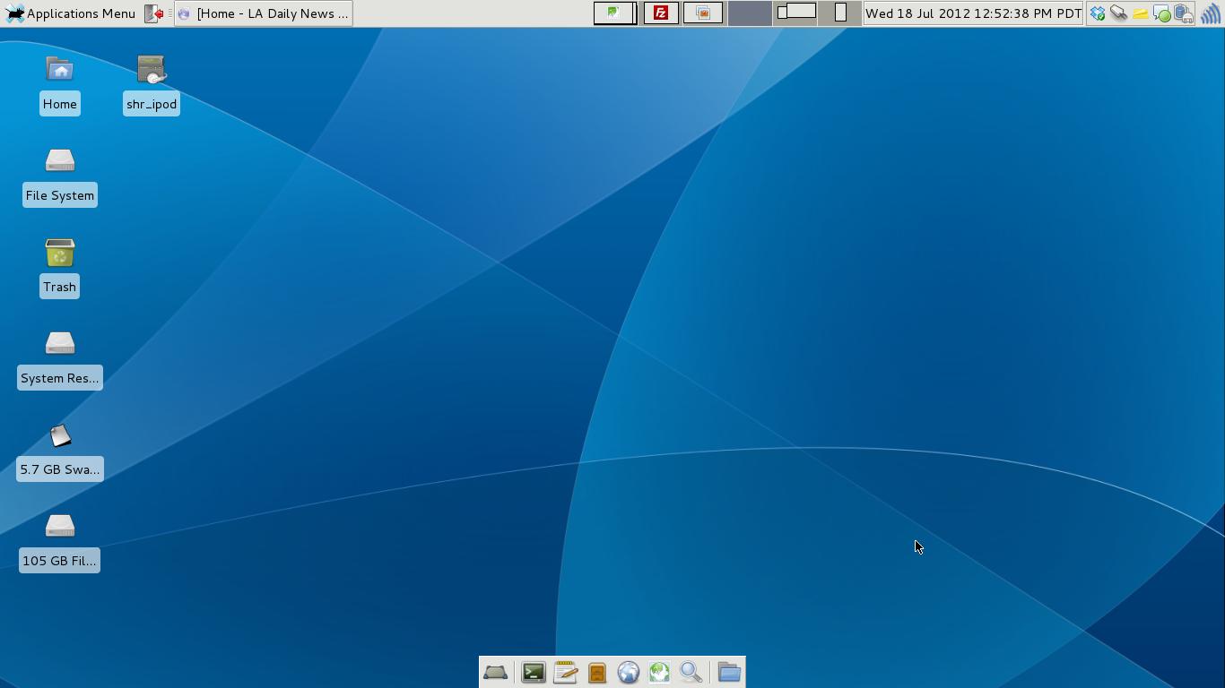 Free download My new Xfce 48 desktop in Debian Wheezy