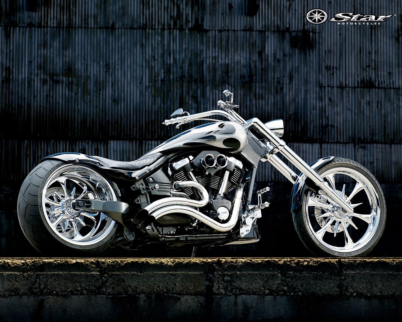 Free Download Yamaha Chopper Chrome Wallpaper 1280x1024