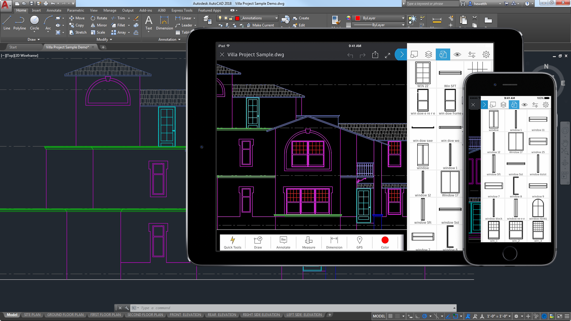 AutoCAD for Mac y Windows Software CAD Autodesk 1920x1080