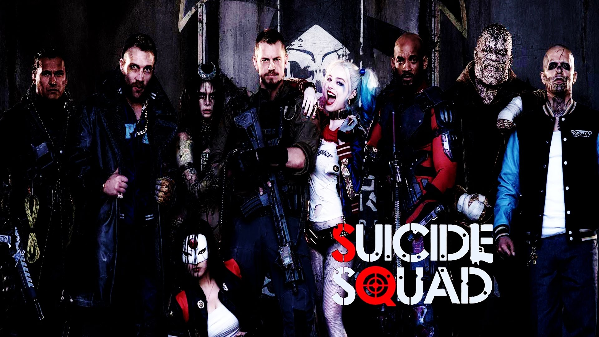 Suicide Squad 2016 1920x1080