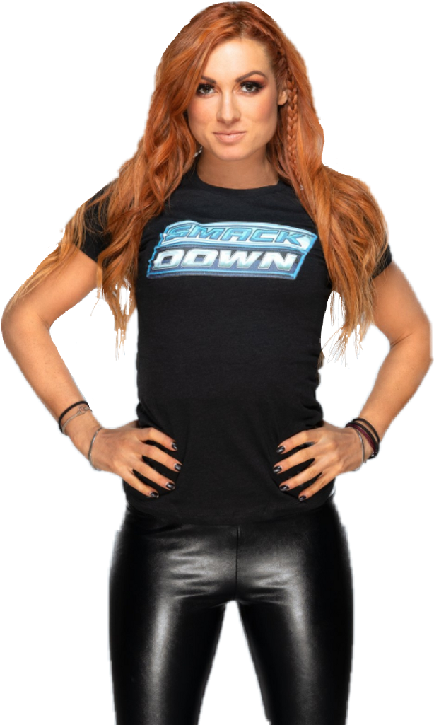 Download png Download Becky Lynch Latex PNG Image with No 614x1025