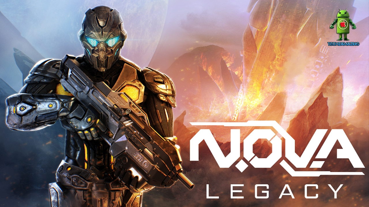 NOVA LEGACY REMASTERED Android Trailer GAMEPLAY IMAGES 1280x720