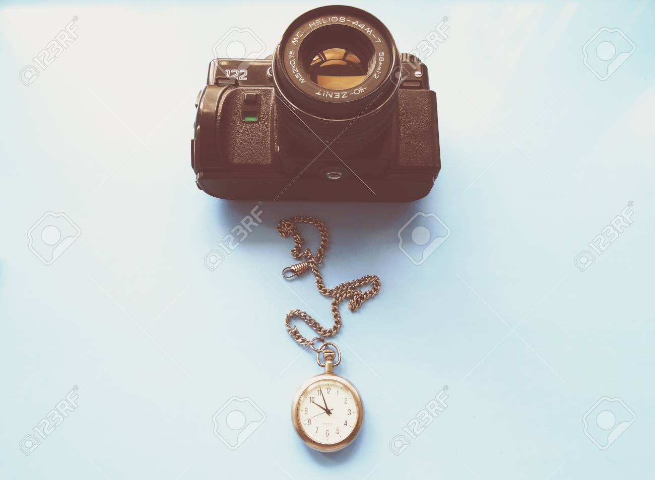 Old Camera Zenith Vintage Style Retro Background Wallpaper 1300x954