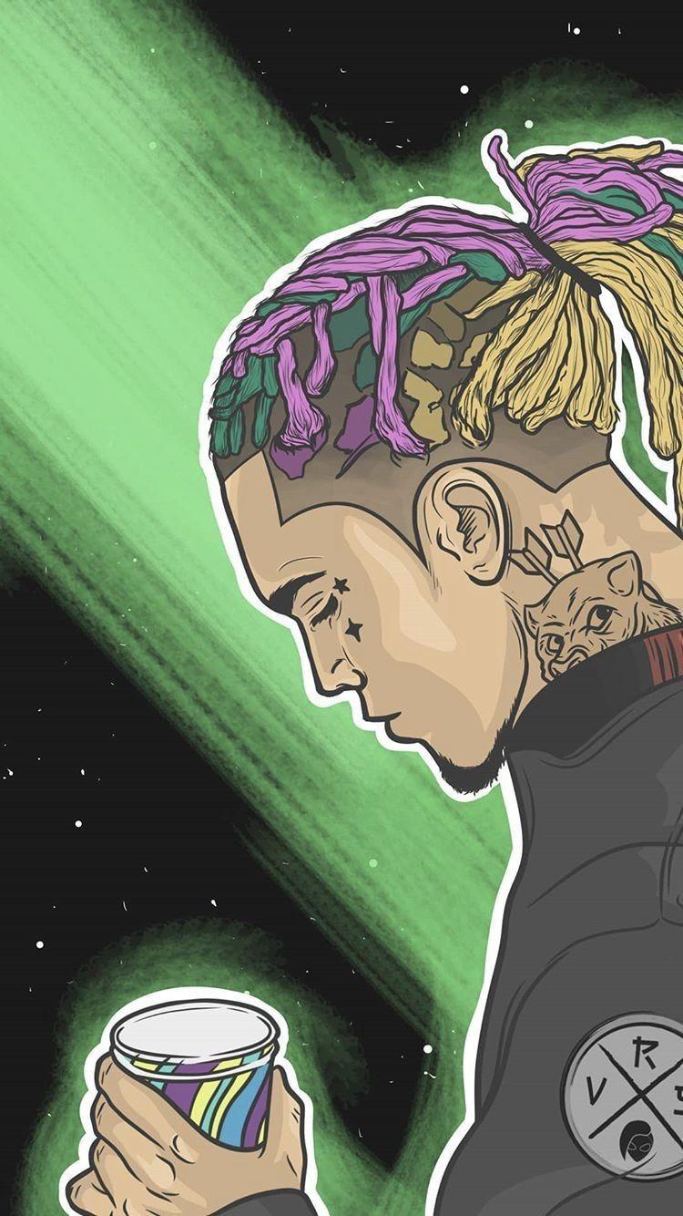 Free Download Gucci Gang Lil Pump Lil Pump Dope Art Rapper Art