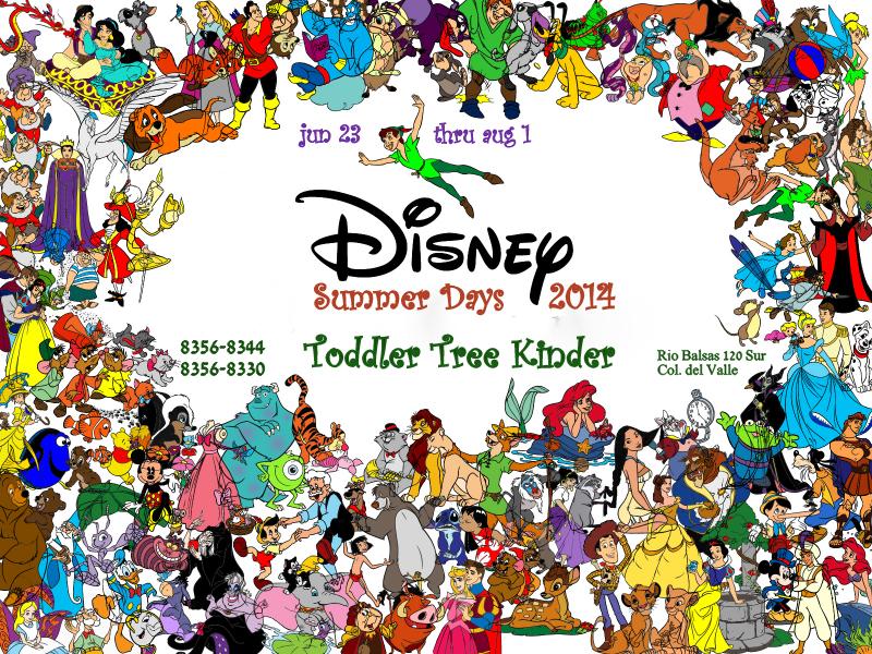 Disney Summer Days Toddler Tree 800x600