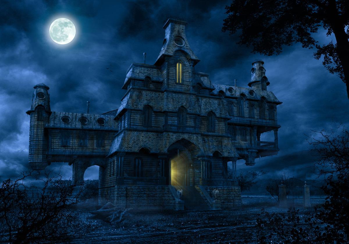 kane blog picz Haunted House Hd Wallpaper 1200x838