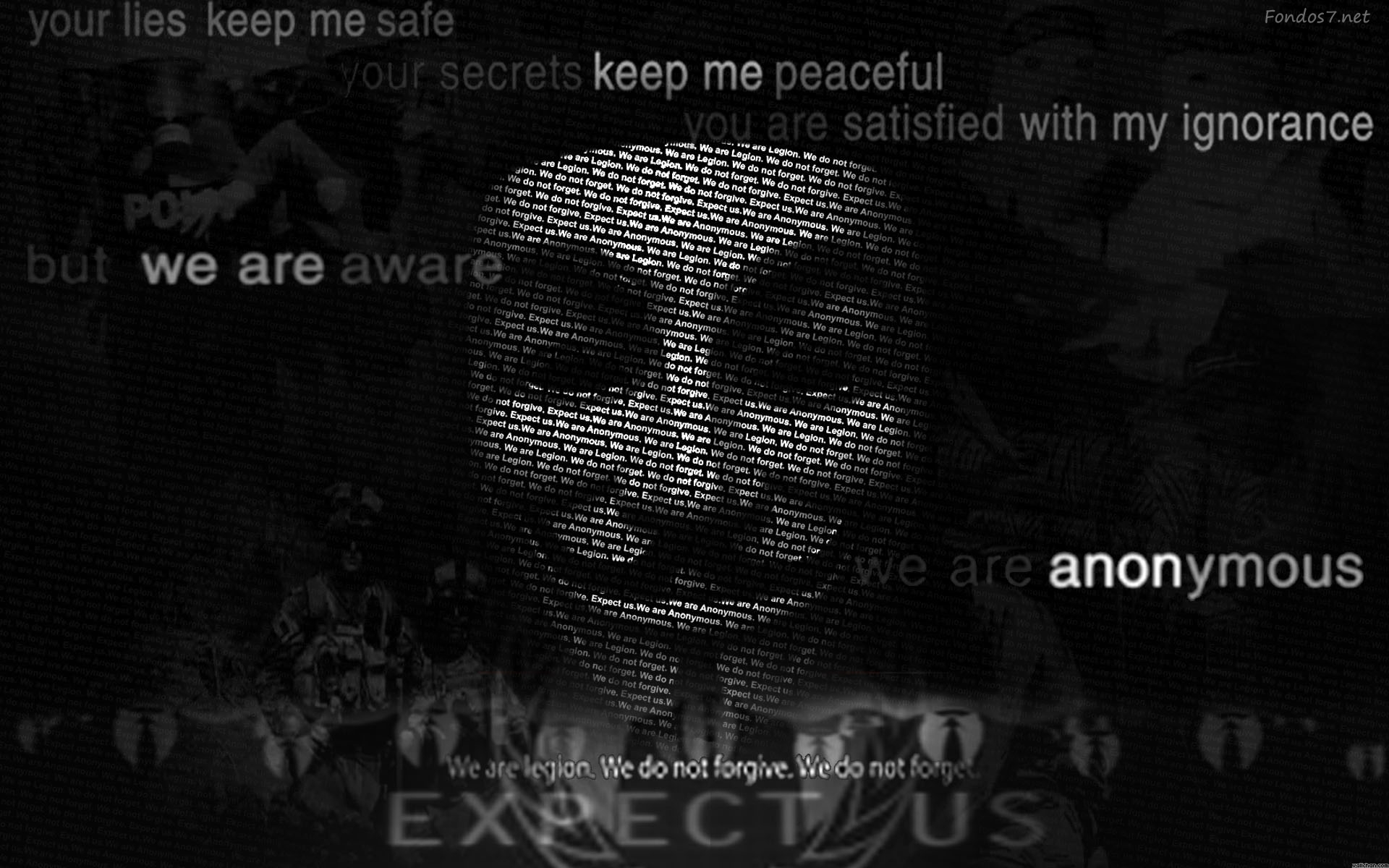 Descargar Fondos de pantalla anonymous hacking hd widescreen Gratis 1920x1200