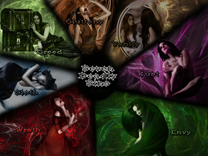 lust seven deadly sins sloth gluttony pride greed 1024x768 wallpaper 800x600