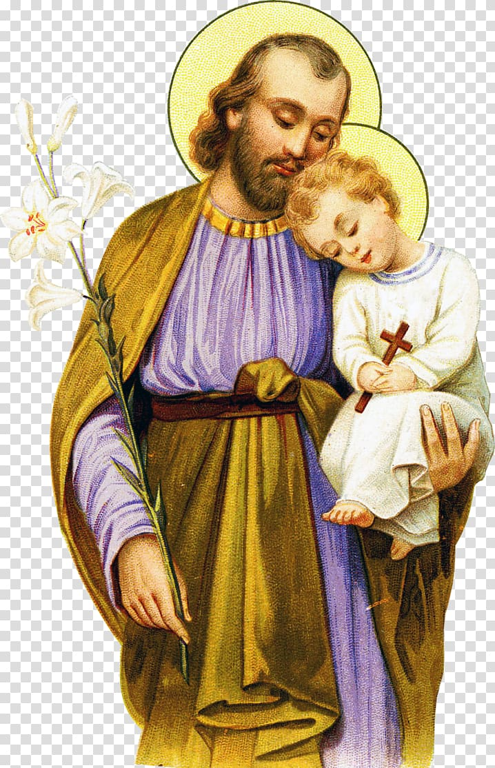 Saint Joseph Prayer Religion Patron saint God transparent 718x1114