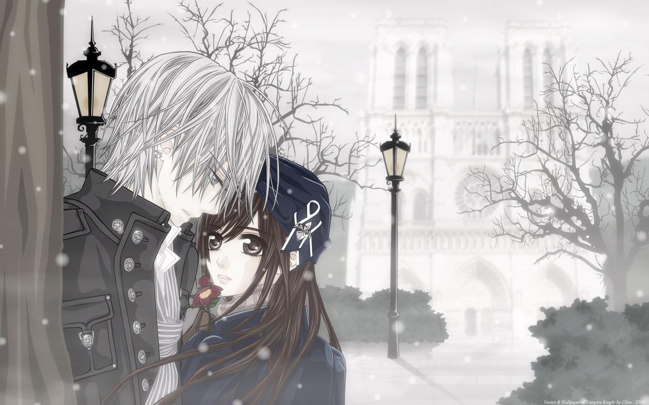 73] Cute Anime Couple Wallpaper on WallpaperSafari 1280x800