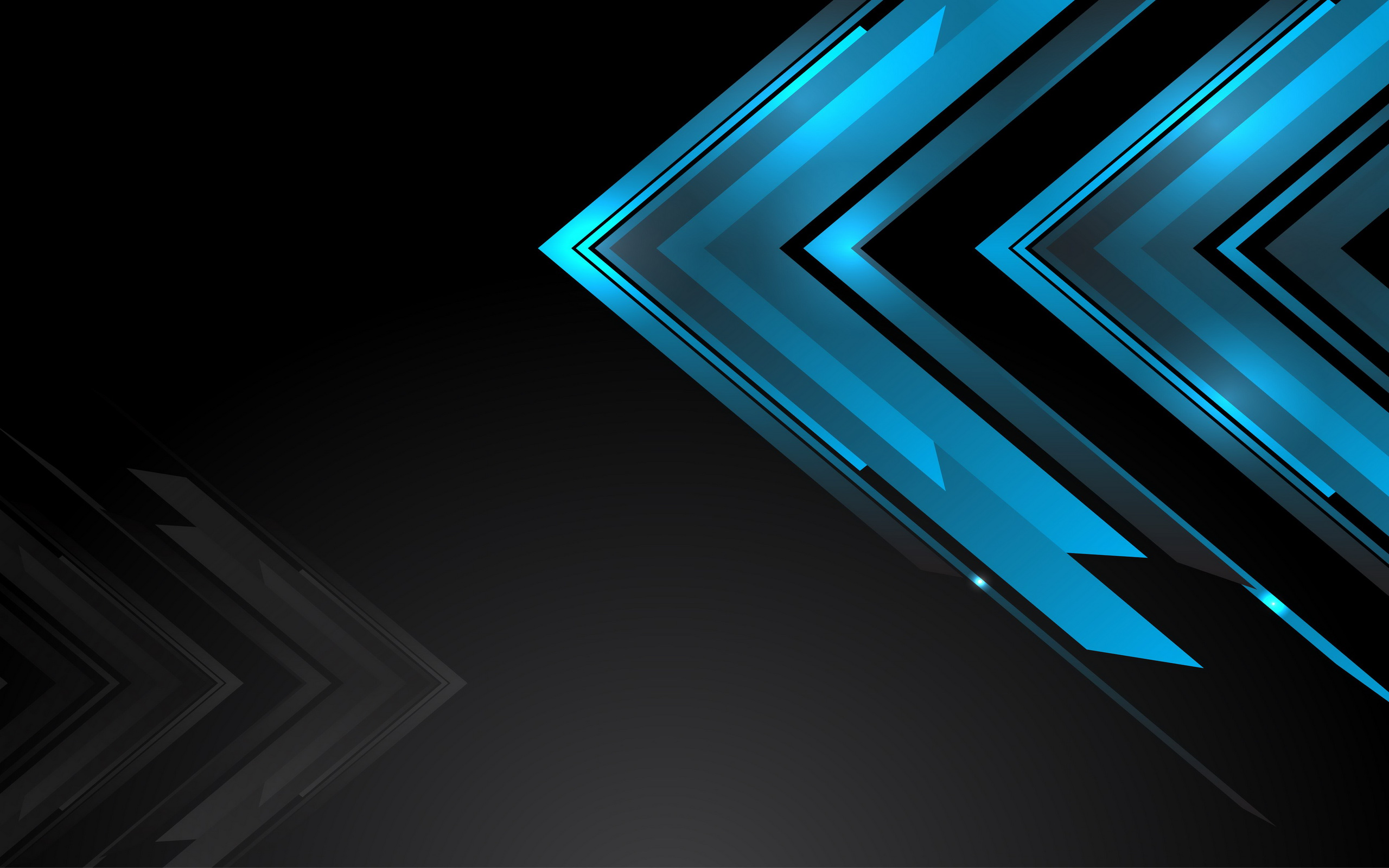 36 Black And Blue Tech Wallpaper On Wallpapersafari