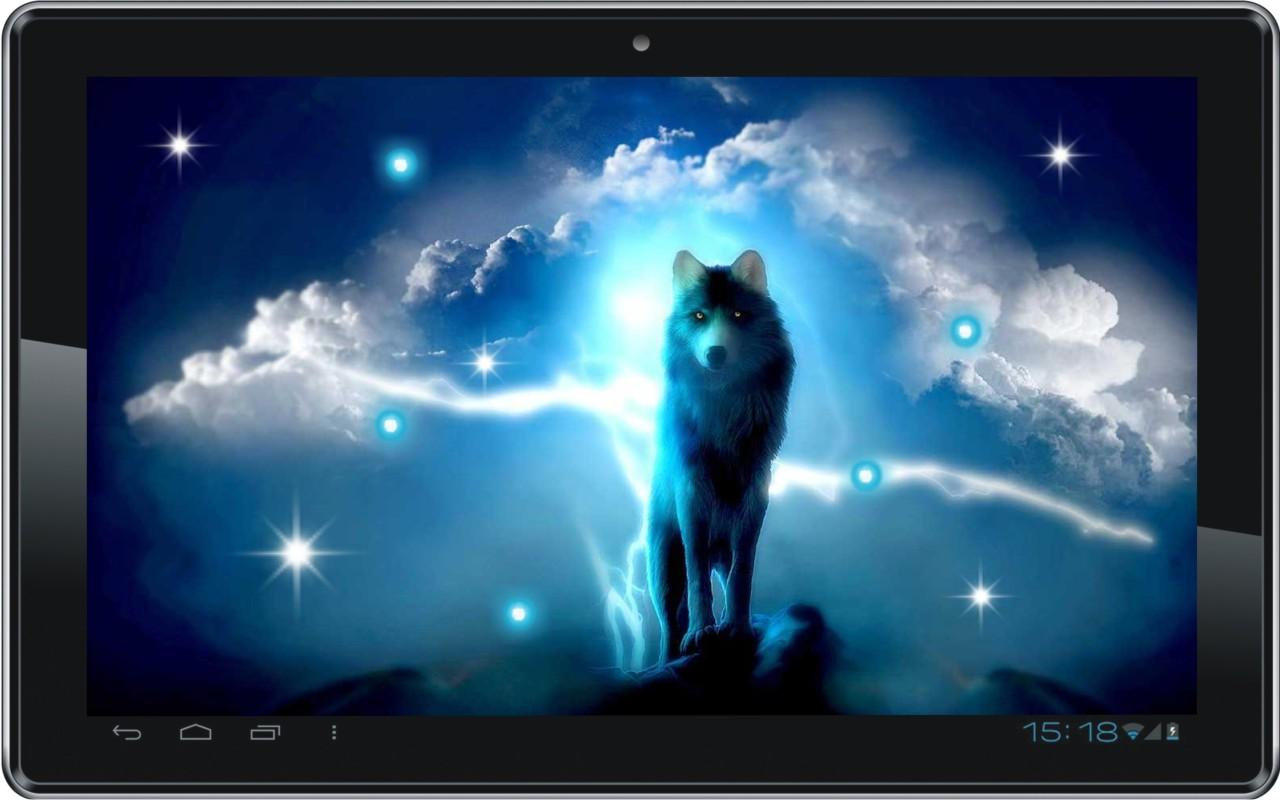 Wolves Night live wallpaper   Android Apps on Google Play 1280x800