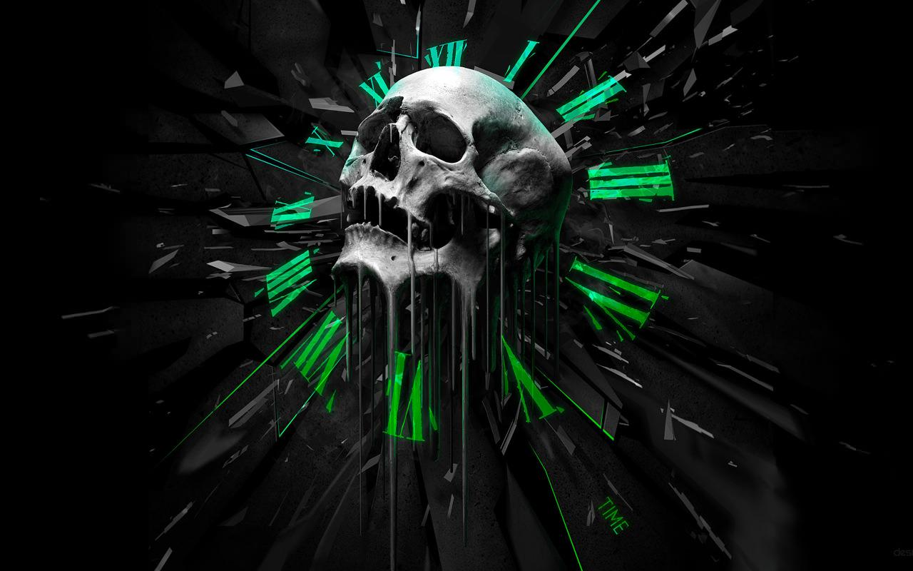 skull hd pictures for your smartphone with skulls live wallpaper app
