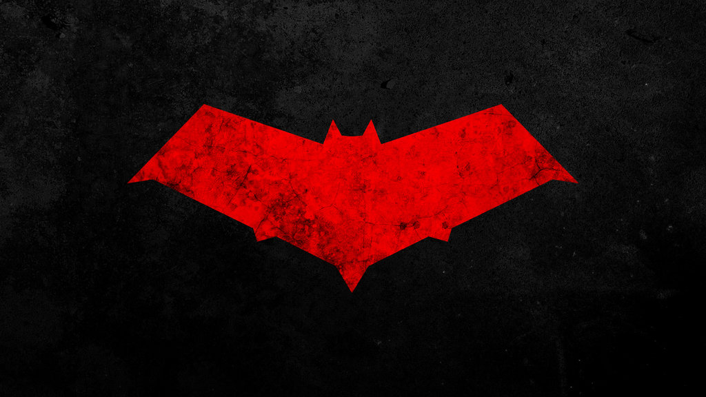 Nightwing Red Logo Wallpaper Red hood wallpaper by 1024x576