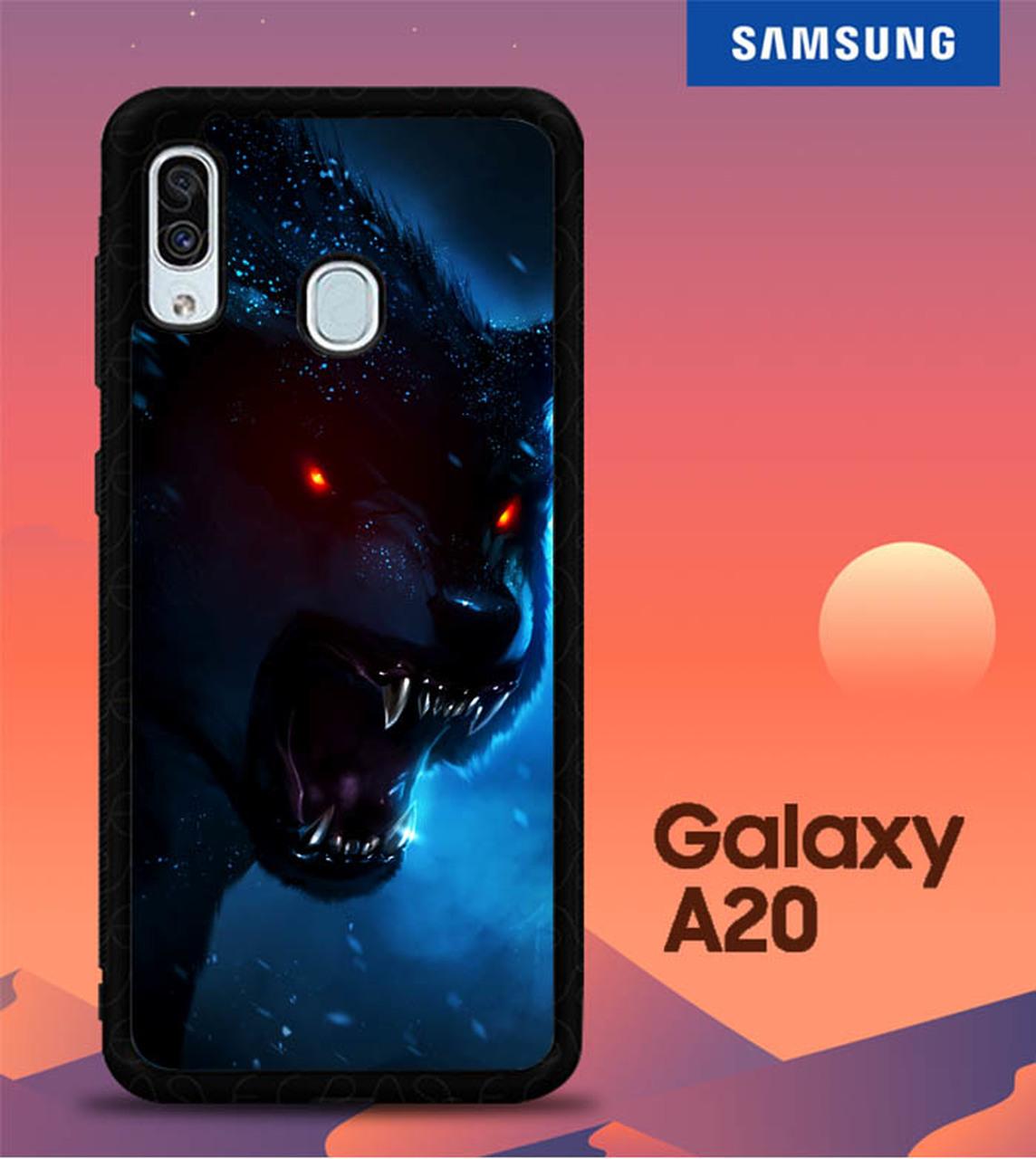 Wolf Wallpaper L0470 Samsung Galaxy A20 Case   Flazzy Store 1144x1280