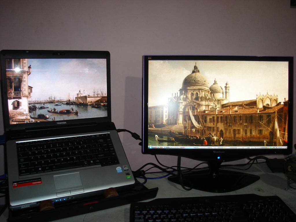 Xp Dual Monitor Wallpaper Different   windows 7 dual desktop wallpaper 1024x768