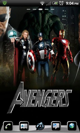 50+] The Avengers Wallpaper Theme on WallpaperSafari