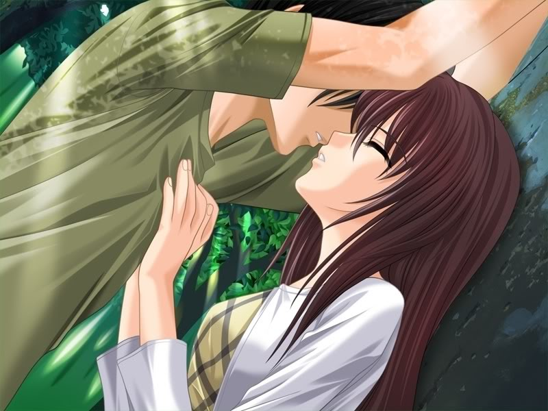 Largest Collection Of Animated Wallpapers Cute Anime Couple Kissing 800x600