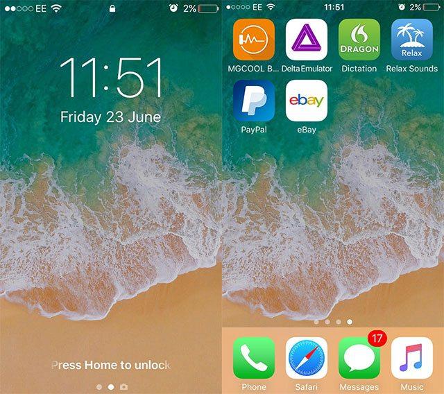 iOS 11 Wallpaper - WallpaperSafari