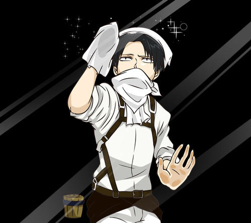 Levi Heichou   Shingeki no Kyojin Attack on titan Fan Art 36452605 500x445