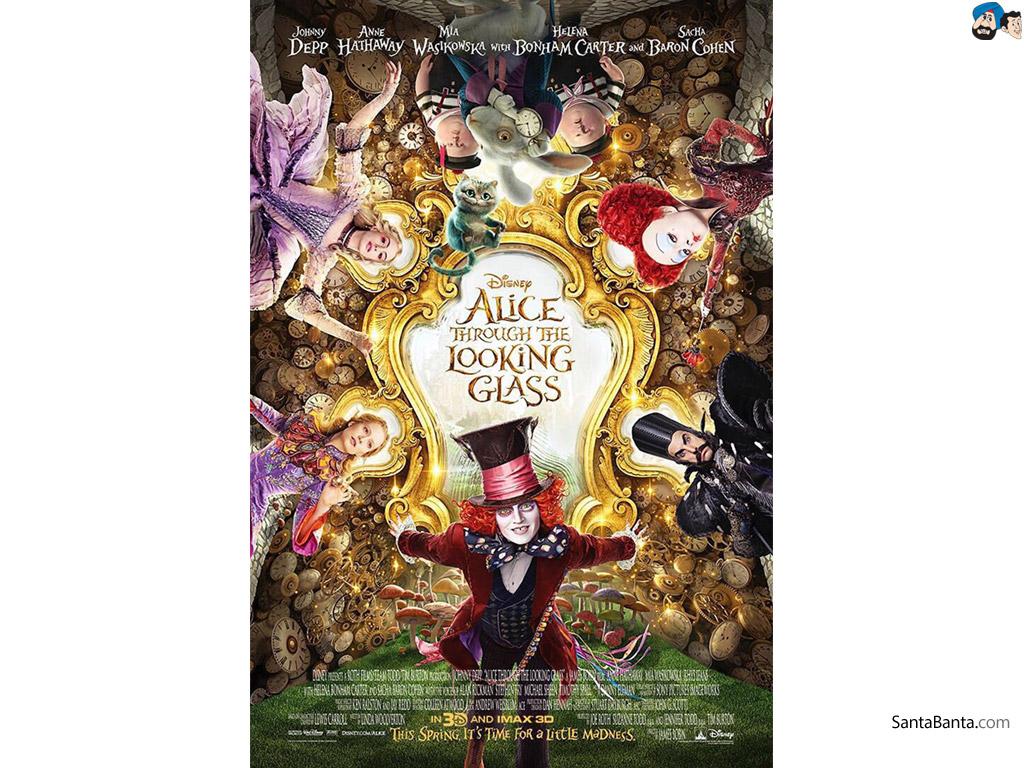 Alice in Wonderland Through the Looking Glass Movie Wallpaper 1 1024x768