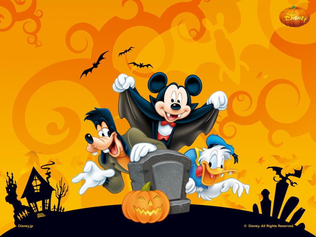Fondos de escritorio   Imagenes Wallpaper Disney en Halloween 1024x768