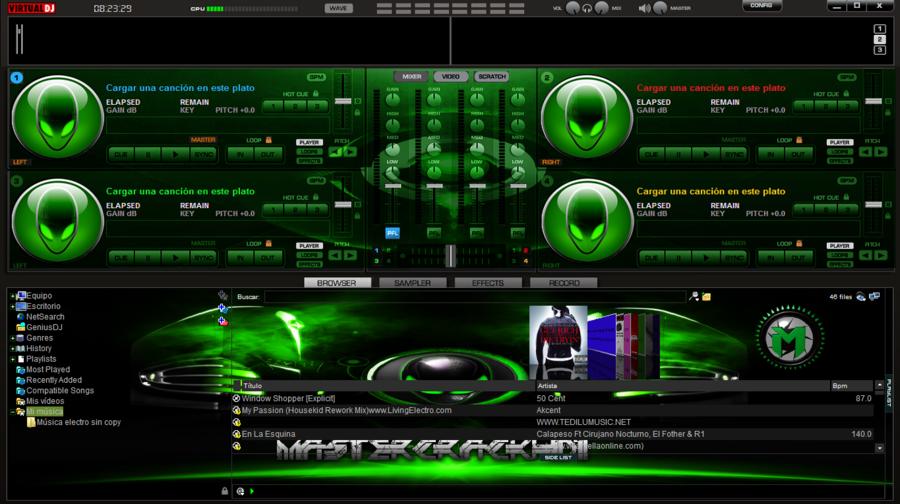 Virtual Dj Logo Wallpaper Skins para virtual dj echo y 900x504