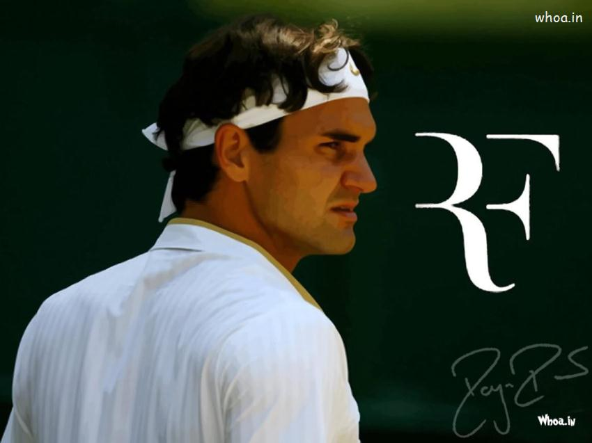 Tennis Player Roger Federer Wallpaper 850x637