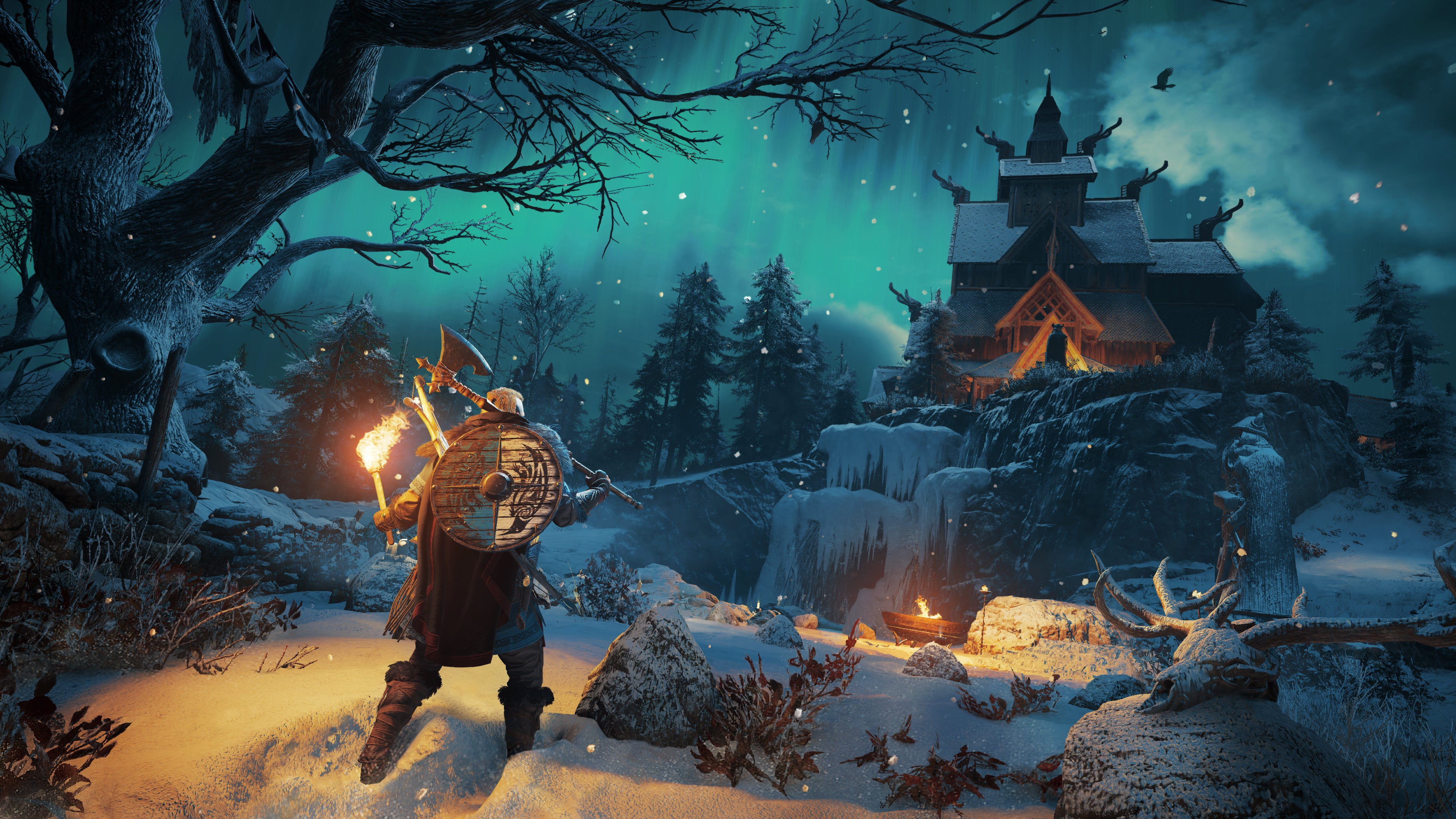 Assassins Creed Valhalla First In Game Images Revealed   IGN 3840x2160