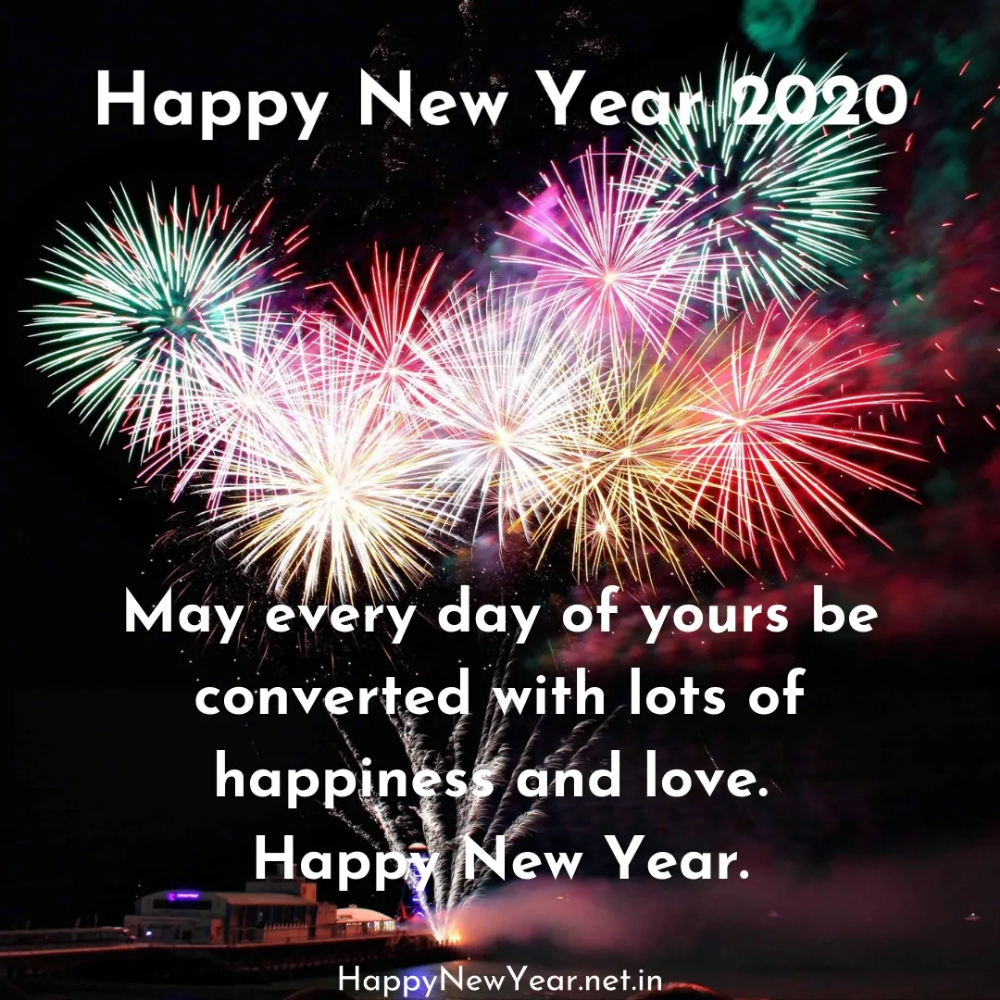Happy New Year 2020 WallPaper Download Happy New Year 2020 in 1000x1000