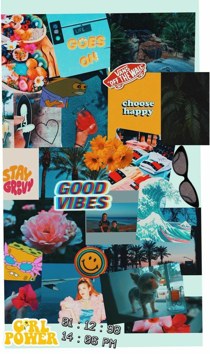 Summer Wallpaper Collage 736x1239
