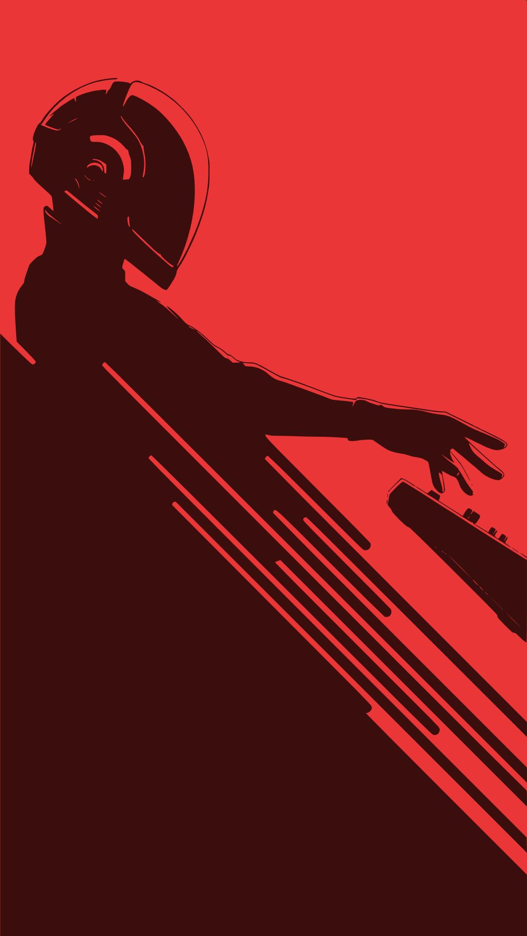 Daft Punk Wallpaper 1081x1920