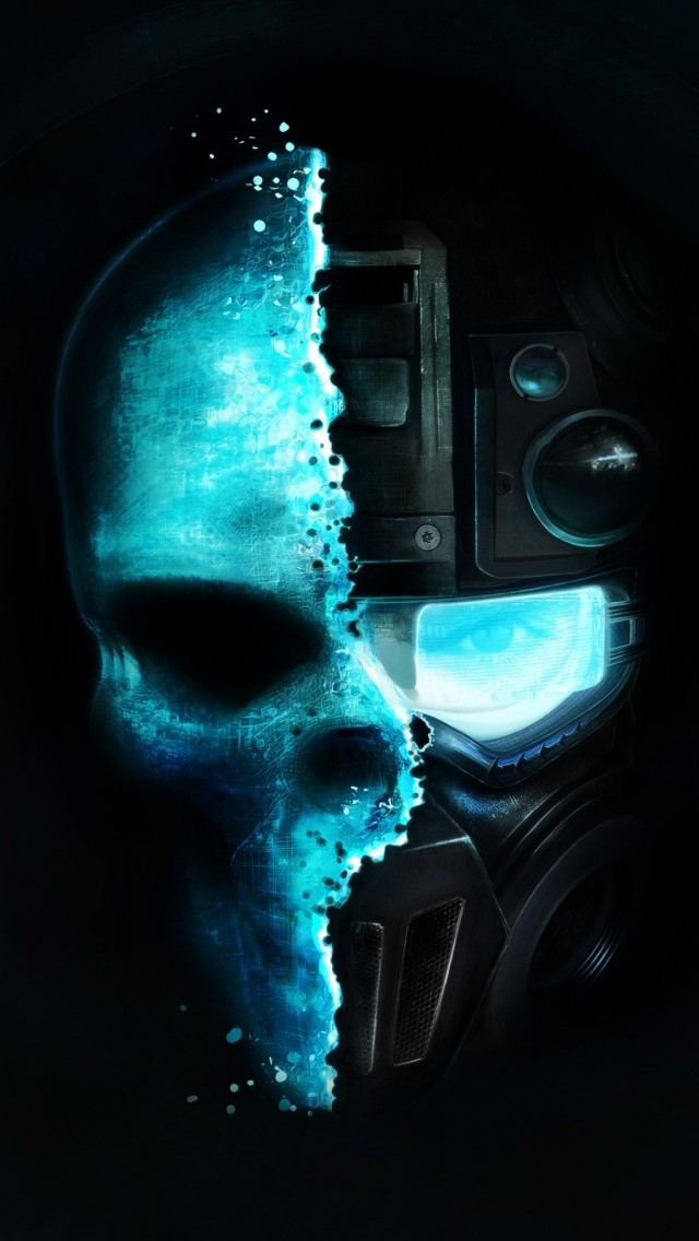 Ghost Recon Skull iPhone 5s Wallpaper Download iPhone Wallpapers 640x1136