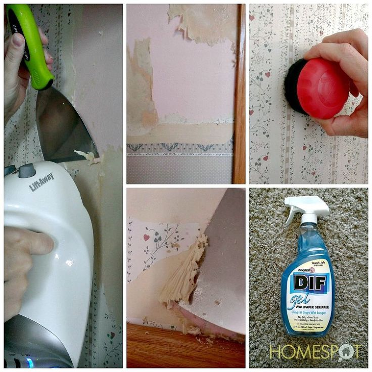 How to Remove Old Wallpaper 736x736
