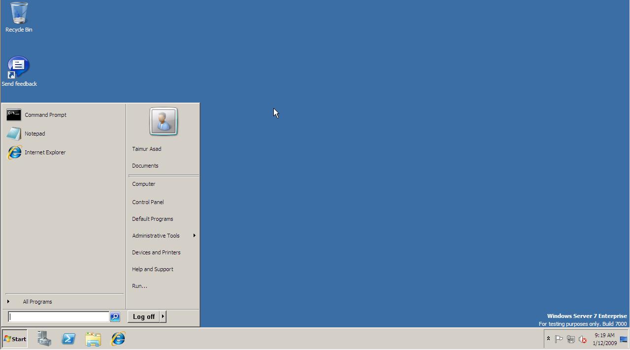 Windows Server 2008 R2 will be the next version of the Windows Server 1279x710