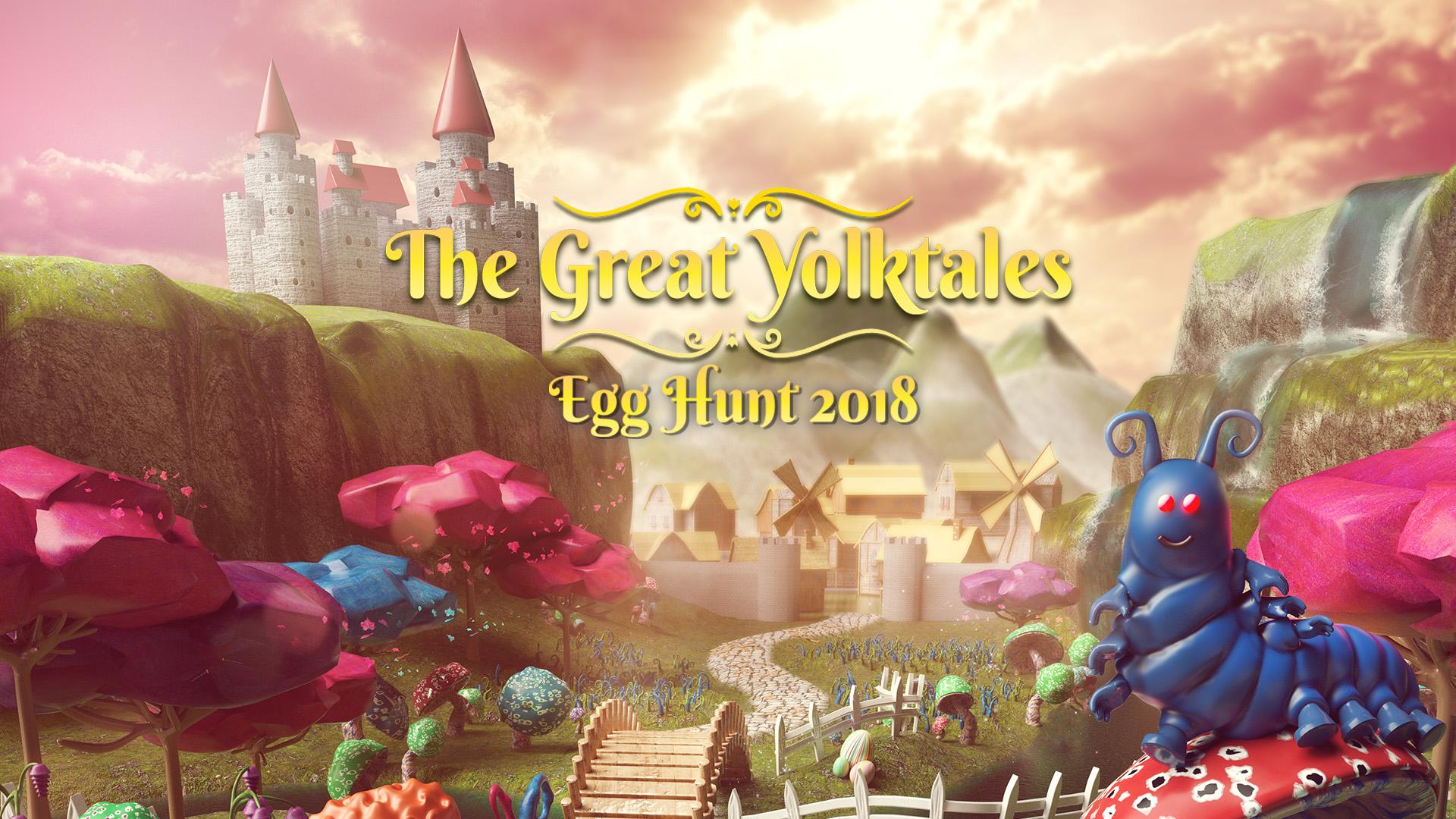 Egg Hunt 2018 The Great Yolktales   Roblox Blog 1920x1080