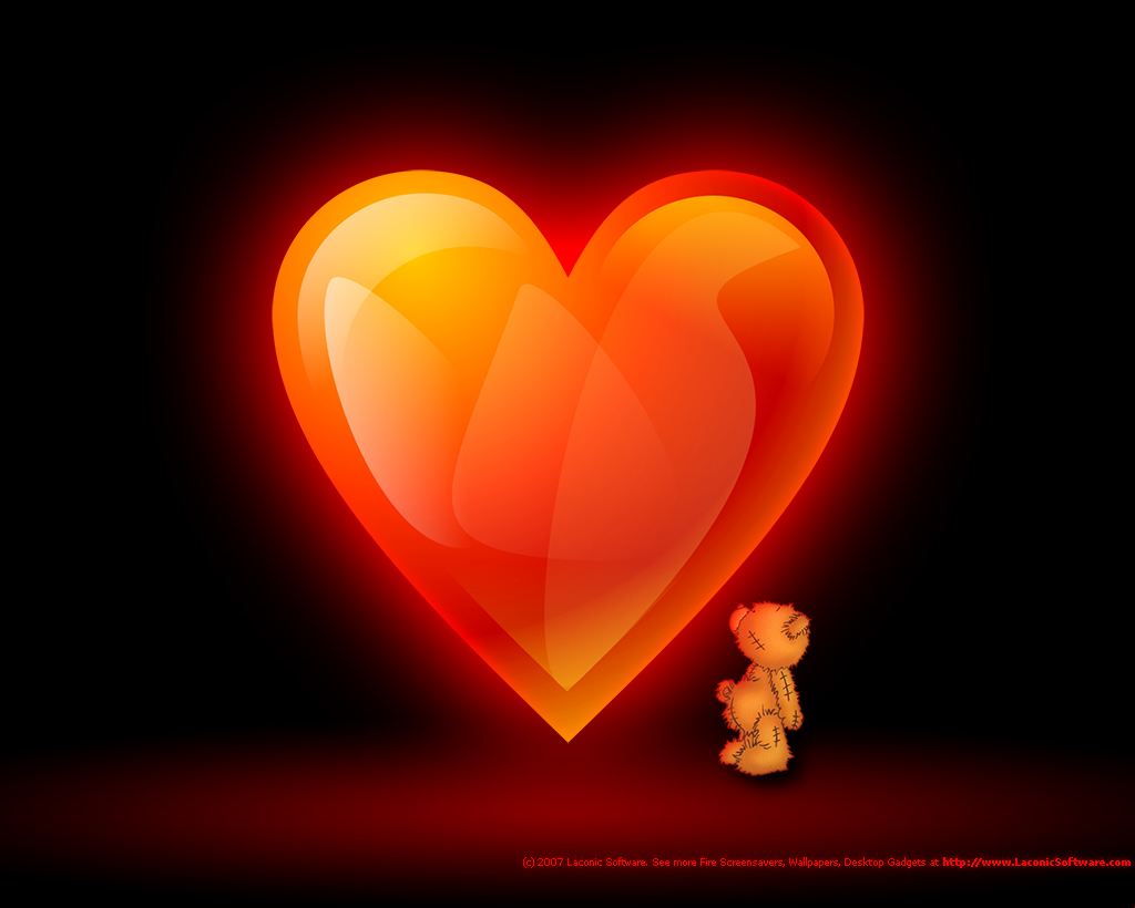 Hearts Wallpaper 1024x820
