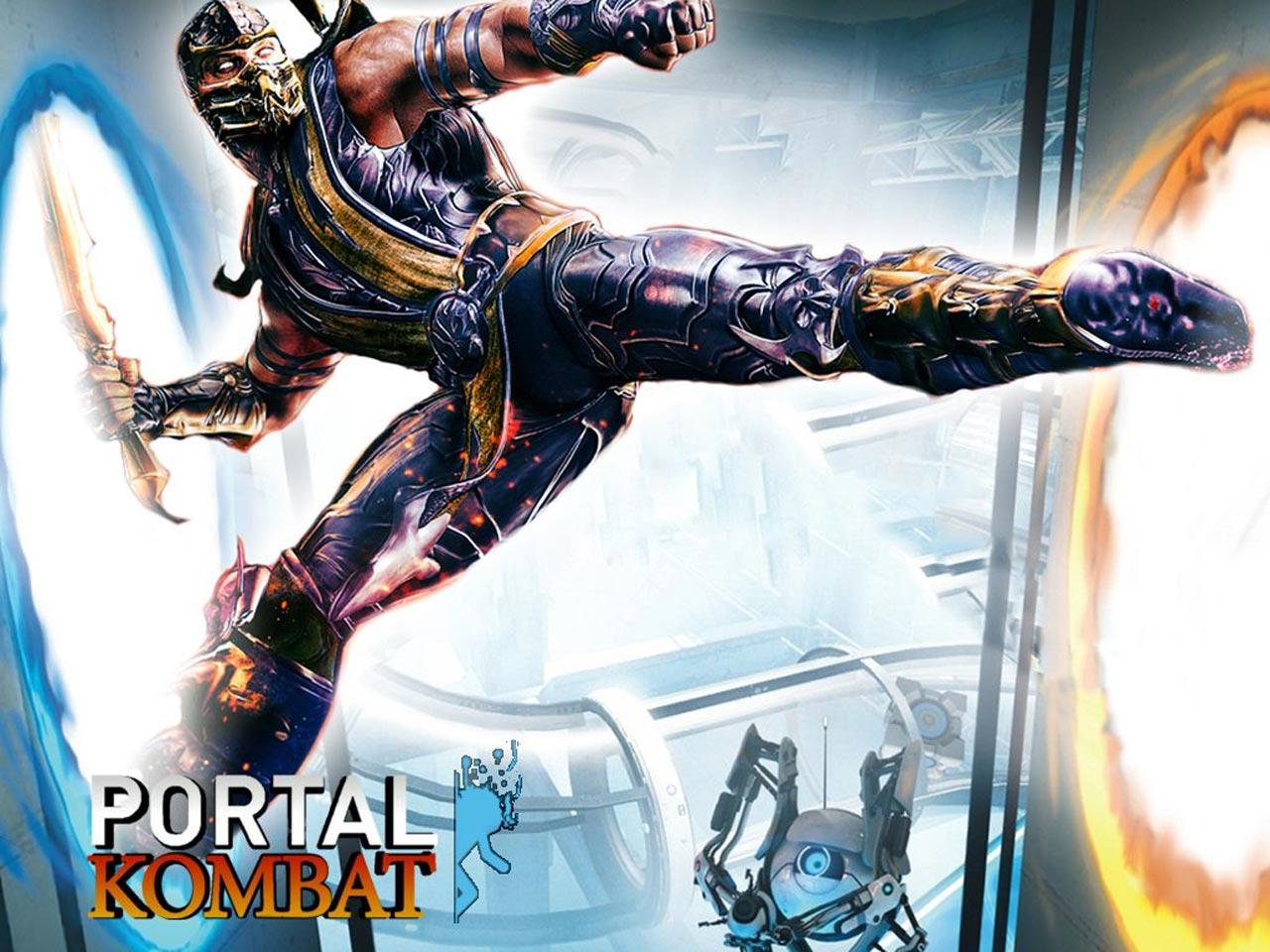 Mortal Kombat 9 Portal Kombat Wallpaper 1280x960