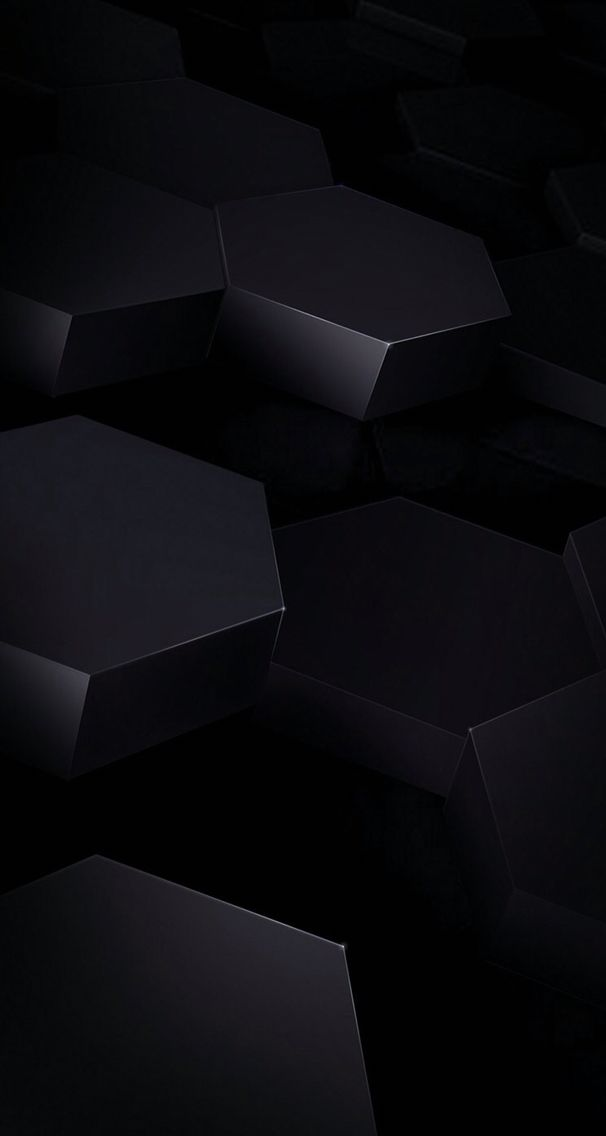 black geometric wallpaper background With images Black 606x1136