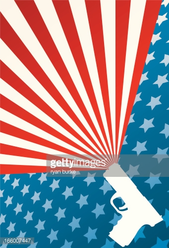 American Gun Rights Background Vector Art Getty Images 341x502