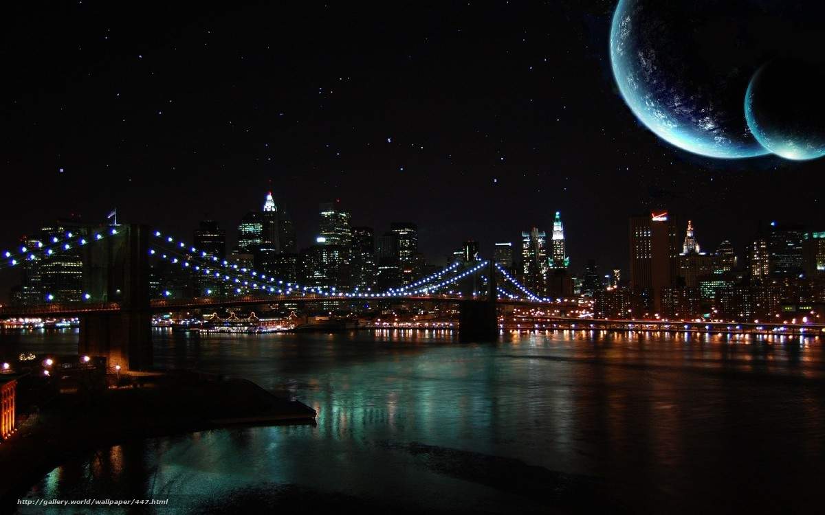 Download wallpaper night sky moon river desktop wallpaper in 1200x750