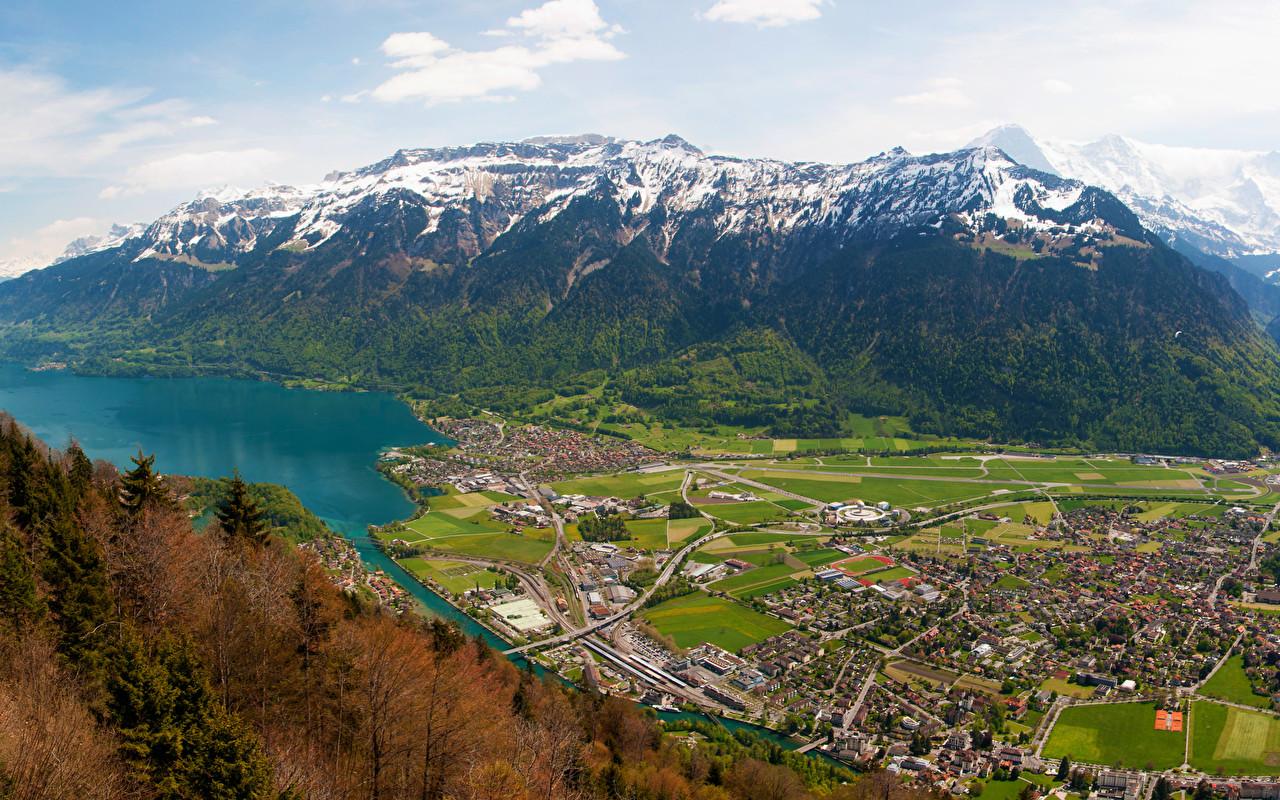 Interlaken   Switzerland   [3440x1440]   [OC] wallpapers 1280x800